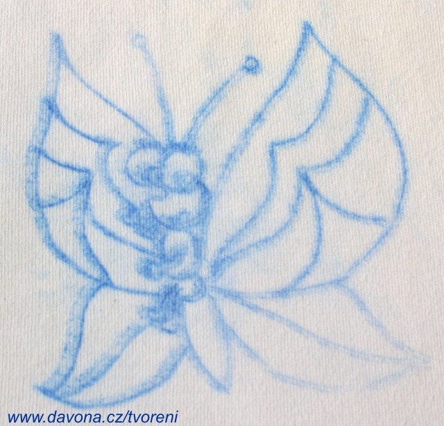 Malovani Obrazku Ze Sablony Na Textil Kopirovanim