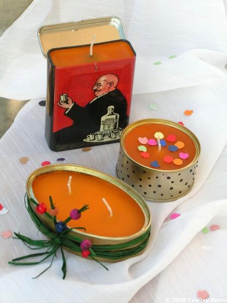 svíčky jinak