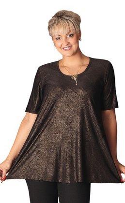 548bb3cb78cf Plesová móda  společenské šaty i pro plnoštíhlé